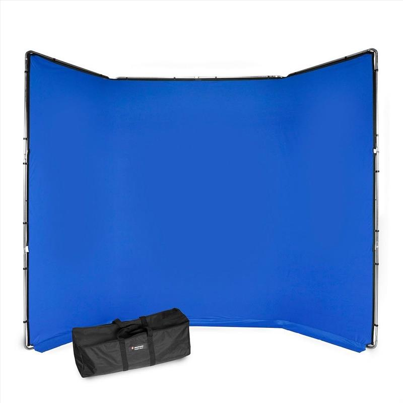 Manfrotto ChromaKey FX 4x2.9m Background Kit Blue
