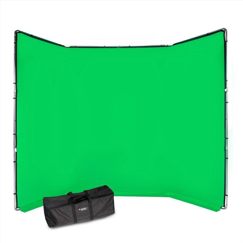 Manfrotto ChromaKey FX 4x2.9m Background Kit Green