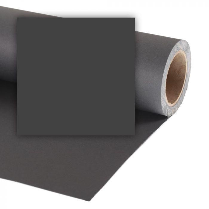 Colorama Paper Background 2.72 x 25m Black