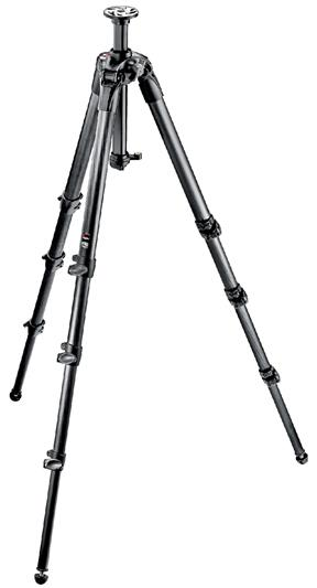 Manfrotto 057 Carbon Fiber Tripod 4 Sections