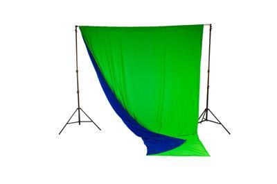 Lastolite Chromakey Curtain Reversible 3 x 3.5m Bl