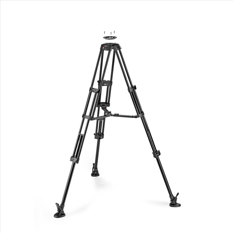 Manfrotto Alu Twin MS Tripod 100/75mm
