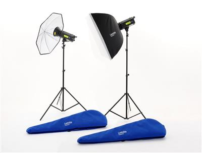 Lastolite Lumen8 Kit F400 + 2 Stands, 1 Umbrella &