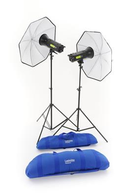 Lastolite Lumen8 Kit F400 + 2 Stands & 2 Umbrellas