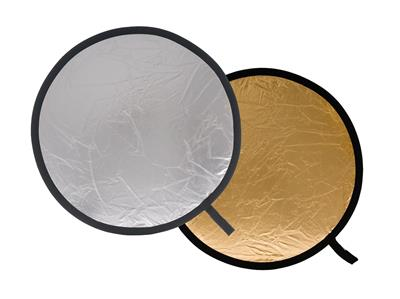 Lastolite Collapsible Reflector 50cm Silver/Gold