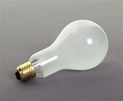 Lastolite 500w P 2/1 Tungsten Bulb 240v E27 UK/EU