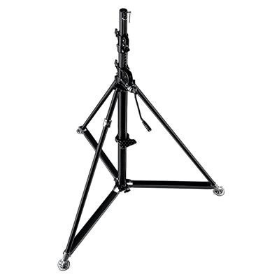 Manfrotto Black Stainless Steel Super Wind Up Stan