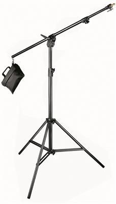 Manfrotto Combi-boom stand ALU Black, Sandbag