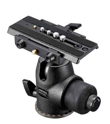 Manfrotto Hydrostatic Ball Head with RC3 Rapid Con