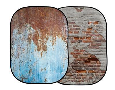 Lastolite Urban Collapsible 1.5 x 2.1m Rusty Metal