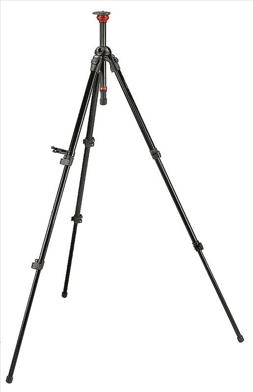 Manfrotto MDeVe Video Tripod, aluminium
