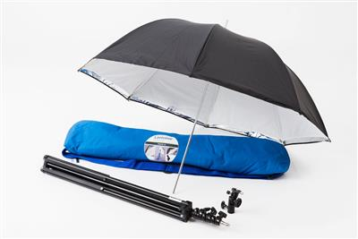 Lastolite Umbrella Kit 84.5cm + Stand & 2422 Tilth