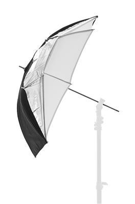 Lastolite Umbrella Dual 72cm Black/Silver/White