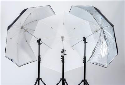 Lastolite All in one Umbrella Silver/White
