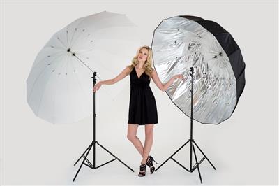 Lastolite Mega Umb Kit + Frame/Translucent/Silver