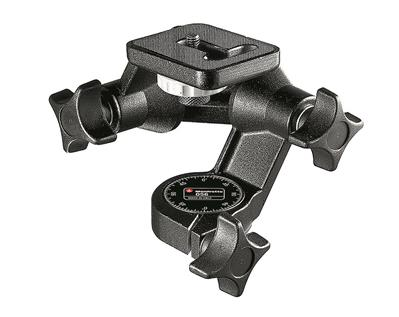 Manfrotto 3D Junior Pan/Tilt Tripod Head with Indi