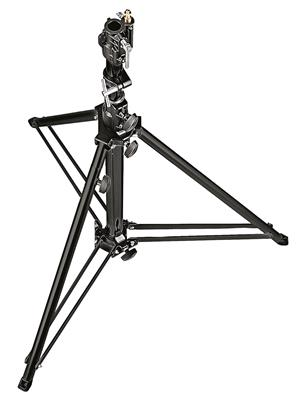 Manfrotto Black Aluminium Follow Spot Stand