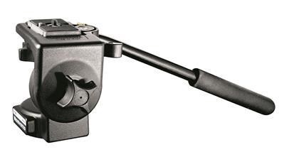 Manfrotto 128RC Micro Fluid Video Head, aluminium