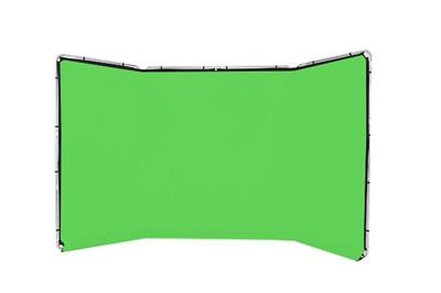 Lastolite Panoramic Background 4m Chromakey Green