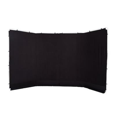 Lastolite Panoramic Background Cover 4m Black (fra