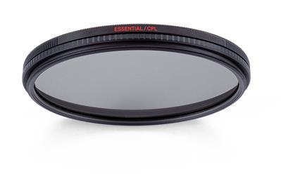 Manfrotto Essential Circular Polarizing Filter 72m