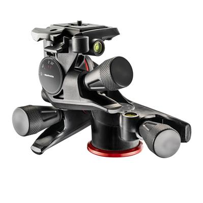 Manfrotto XPRO Geared Three-way pan/tilt tripod he