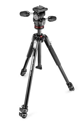 Manfrotto 190X Tripod with 804 3-Way Head and Quic