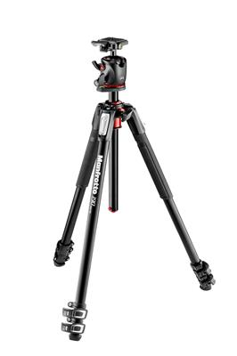 Manfrotto 190 Aluminium 3-Section Tripod and XPRO