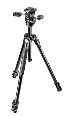 Manfrotto 290 Xtra Aluminium 3-Section Tripod with