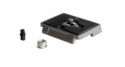 "Manfrotto Quick Release Plate with 1/4"" Screw and"