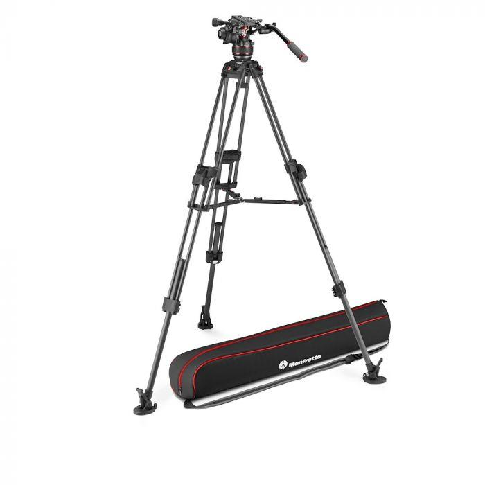 Manfrotto Nitrotech 608 + 645 Fast Twin Carbon