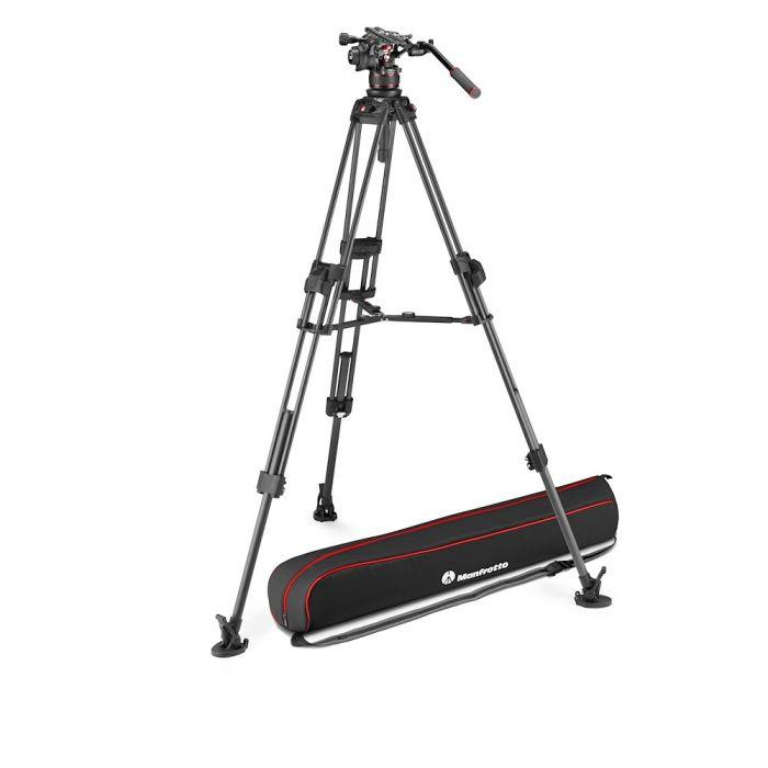Manfrotto Nitrotech 612+645 Fast Twin Carbon Tripo