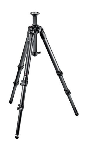 Manfrotto 057 Carbon Fiber Tripod 3 Sections