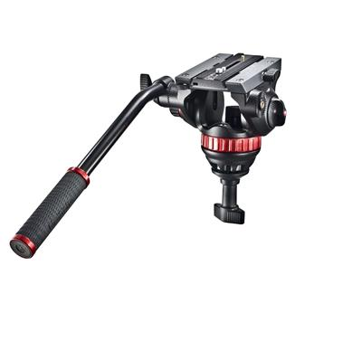 Manfrotto 502 Fluid video Head with 75mm half ball