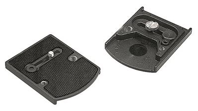 "Manfrotto Accessory Plate with 1/4"" and 3/8"" screw"