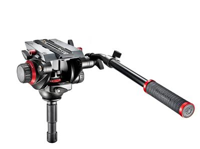 Manfrotto 504 Fluid Video Head with 75 mm half bal