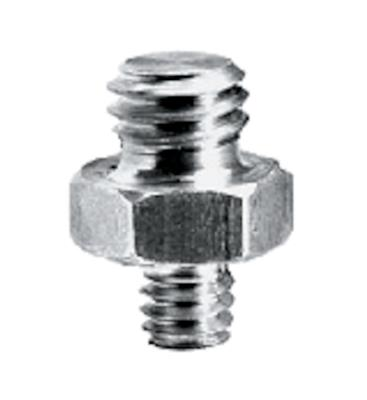 "Manfrotto Short Adapter Spigot 3/8""and1/4"""