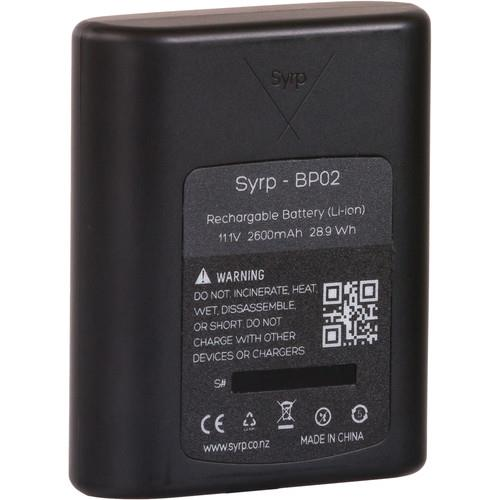 Syrp BP02 Battery 2600mAh 11.1v