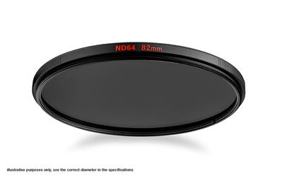 Manfrotto Neutral Density 64 Filter with 62mm diam