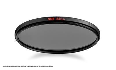 Manfrotto Neutral Density 8 Filter with 62mm diame
