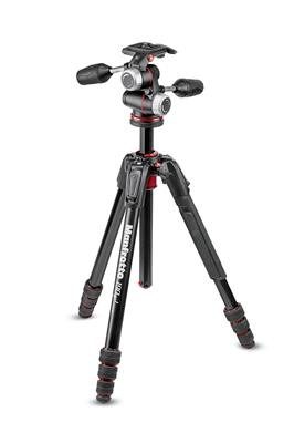 Manfrotto 190go! MS Aluminum Tripod kit 4-Section