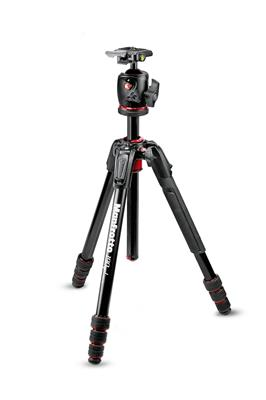 Manfrotto 190go! MS Aluminium Tripod kit 4-Section