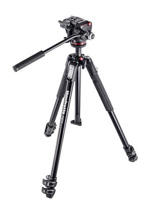 Manfrotto 190X aluminium 3-Section Tripod with XPR