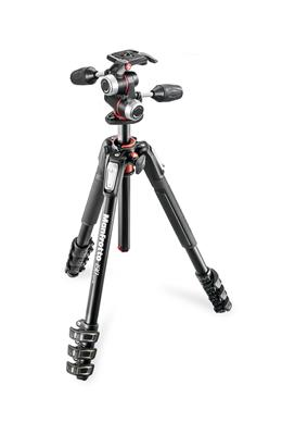 Manfrotto 190 ALU 4 SECTION KIT 3W HEAD