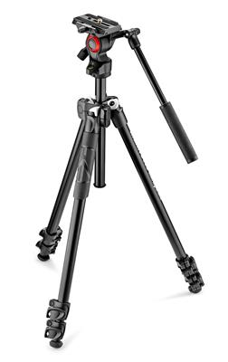 Manfrotto 290 light aluminium tripod with befree l