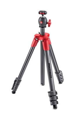 Manfrotto Compact Light aluminium tripod with ball