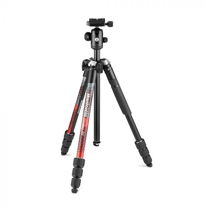 Manfrotto Element MII Aluminium, červený,4 Sec, BH