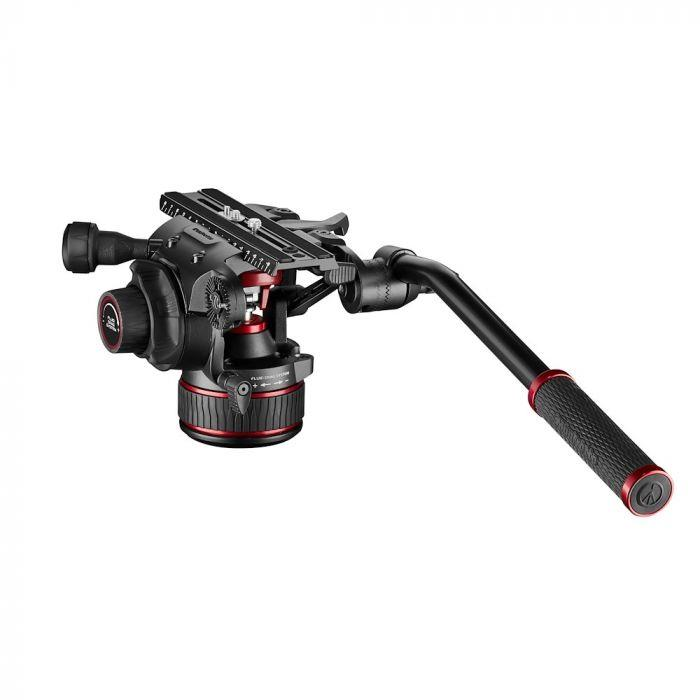 Manfrotto Nitrotech 612 Fluid Video Head With CBS