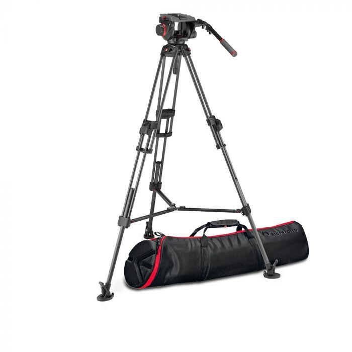 Manfrotto 509 & CF Twin Fast 2n1